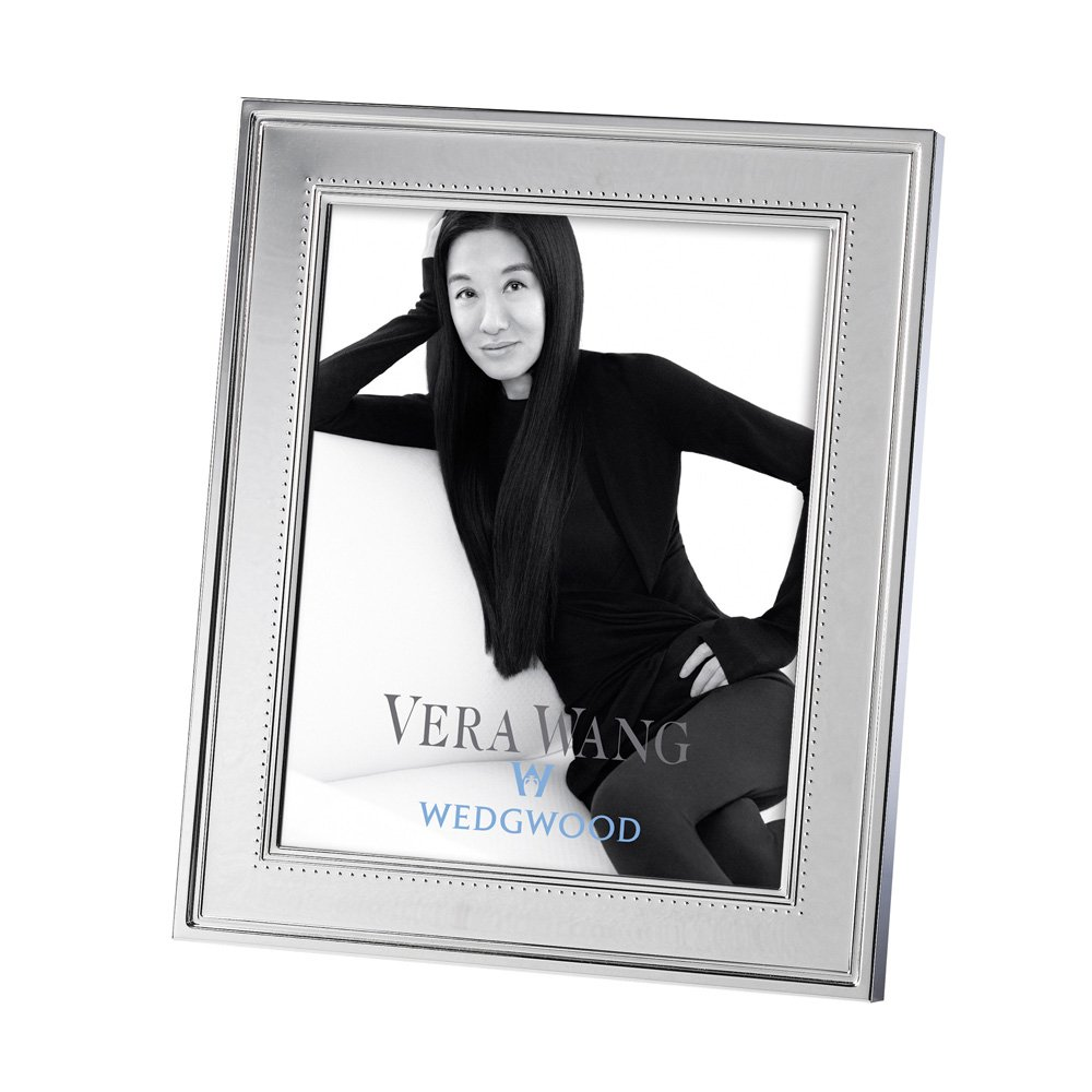 vera wang wedgwood grosgrain silver giftware frame 8x10