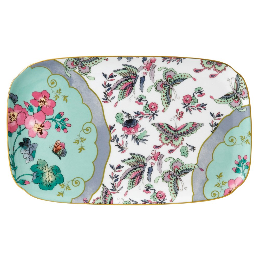 Wedgwood Baby Gifts Australia : Wedgwood butterfly bloom sandwich tray cm