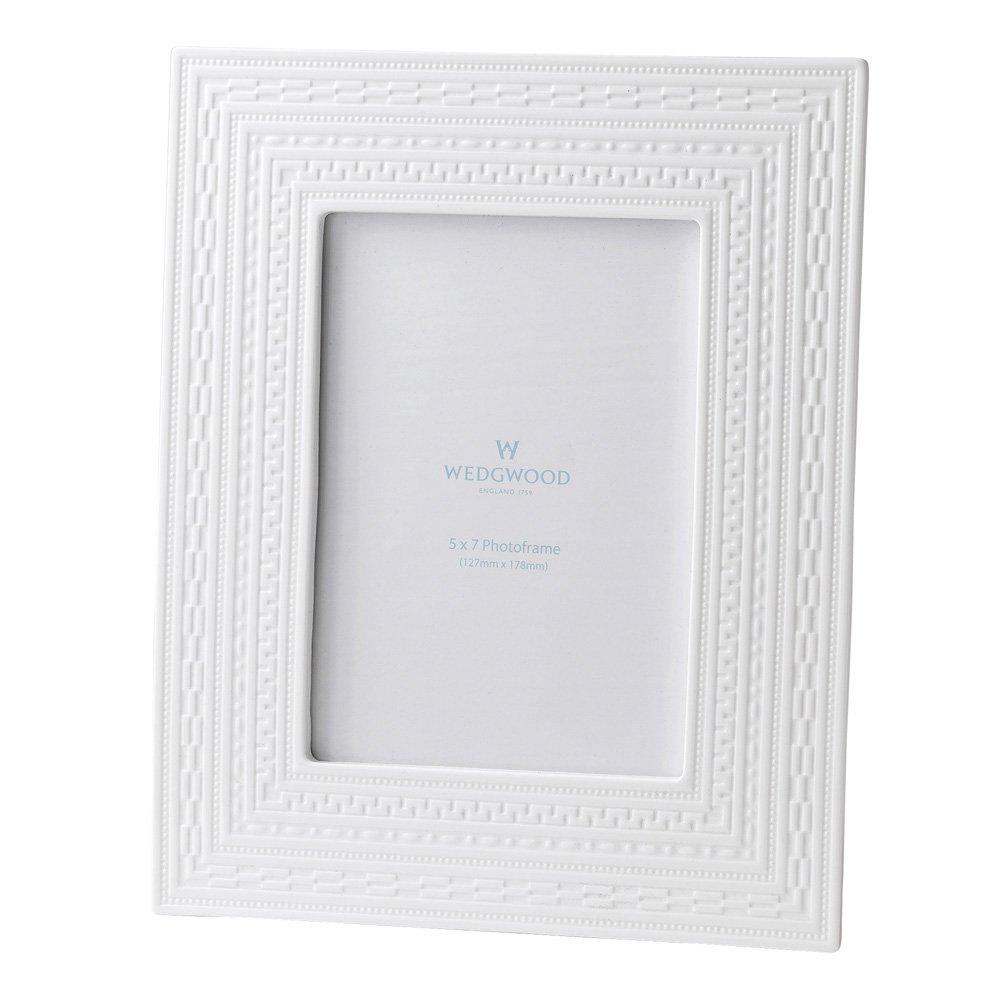 Wedgwood Intaglio Giftware White Frame 5X7\
