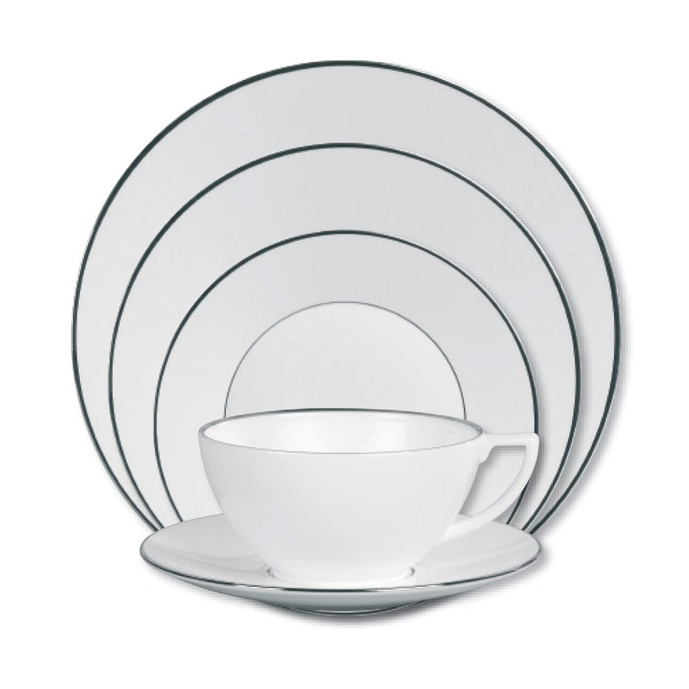 Jasper conran at wedgwood platinum lined 5 piece place for Jasper conran shop