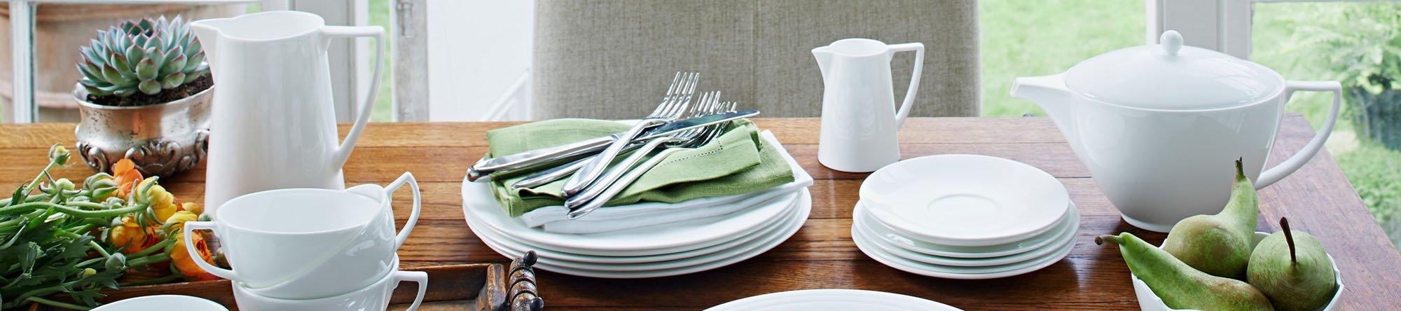 Jasper Conran White & Jasper Conran White Tableware - Place Sets Bowls Plates u0026 Mugs ...