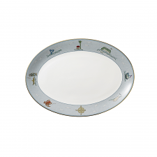 Sailor's Farewell Oval Platter  35cm