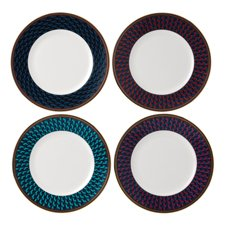 Wedgwood Byzance Set of 4 Plates 20cm