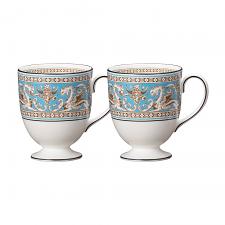 Florentine Turquoise Mug Set of 2
