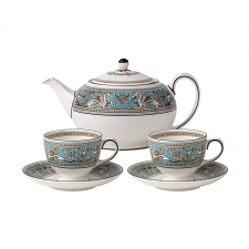 Florentine Turquoise Tea for Two