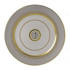 Anthemion Grey Plate 30cm