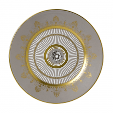 Anthemion Grey Plate 20cm