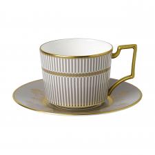 Anthemion Grey Teacup & Saucer
