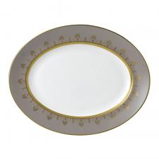Anthemion Grey Oval Platter 35cm
