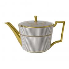 Anthemion Grey Teapot 1Ltr