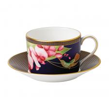 Hummingbird Teacup & Saucer