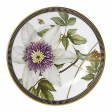 Hummingbird Plate 15cm White