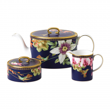 Hummingbird 3 Piece Tea Set