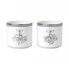 Christmas Votive 6.5cm Set of 2