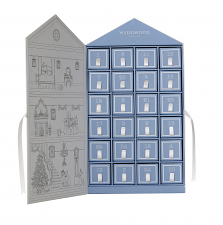 Advent House including 24 miniature charms