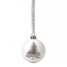 Fine Bone China Christmas Tree Ornament 7cm