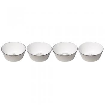 Winter White Set of 4 Nibble Bowls 11cm
