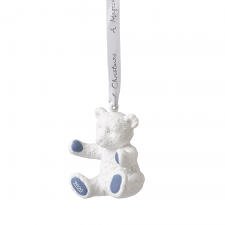 Christmas Baby's First Ornament 2020 Blue