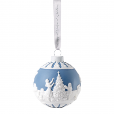 Christmas Dressing the Tree Bauble Ornament