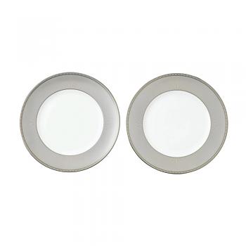 Winter White Set of 2 Plates 27cm