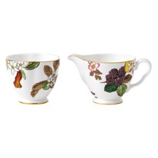 Wedgwood Tea Garden Sugar & Creamer