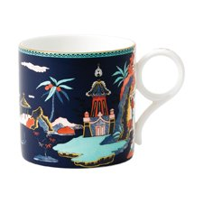 Wedgwood Wonderlust Blue Pagoda Mug Large 300ml