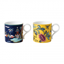 Wonderlust Large Mug Set of 2
