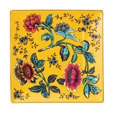 Wedgwood Wonderlust Yellow Tonquin Tray 14.5cm