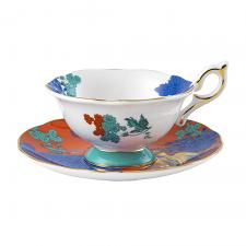 Wonderlust Golden Parrot Teacup & Saucer 140ml