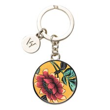Wonderlust Yellow Tonquin Keyring