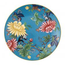 Wonderlust Sapphire Garden Plate 20cm