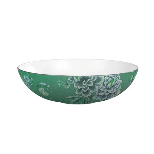 Jasper Conran Chinoiserie Green Oval Open Serving Dish 30cm