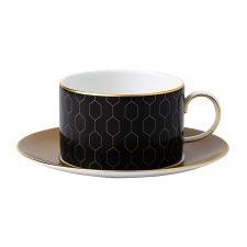 Arris Teacup & Saucer Honeycomb