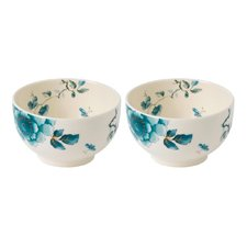 Wedgwood Blue Bird Set of 2 Bowls 11cm