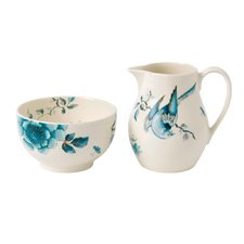 Wedgwood Blue Bird Sugar & Creamer Set