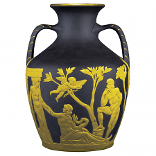 Lord Wedgwood Collection Portland Vase Gilded