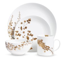 Vera Wang Jardin 4-Piece Place Setting