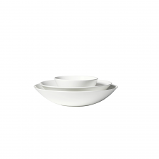 Vera Wang  Vera Perfect White Nesting Bowl Set of 3