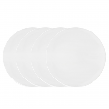 Vera Wang Vera Perfect White Dinner Plate Set of 4