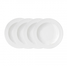 Vera Wang Vera Perfect White Rim Soup 22cm Set of 4