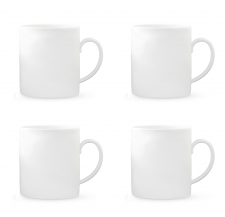 Vera Wang Vera Perfect White Mug 440ml Set of 4