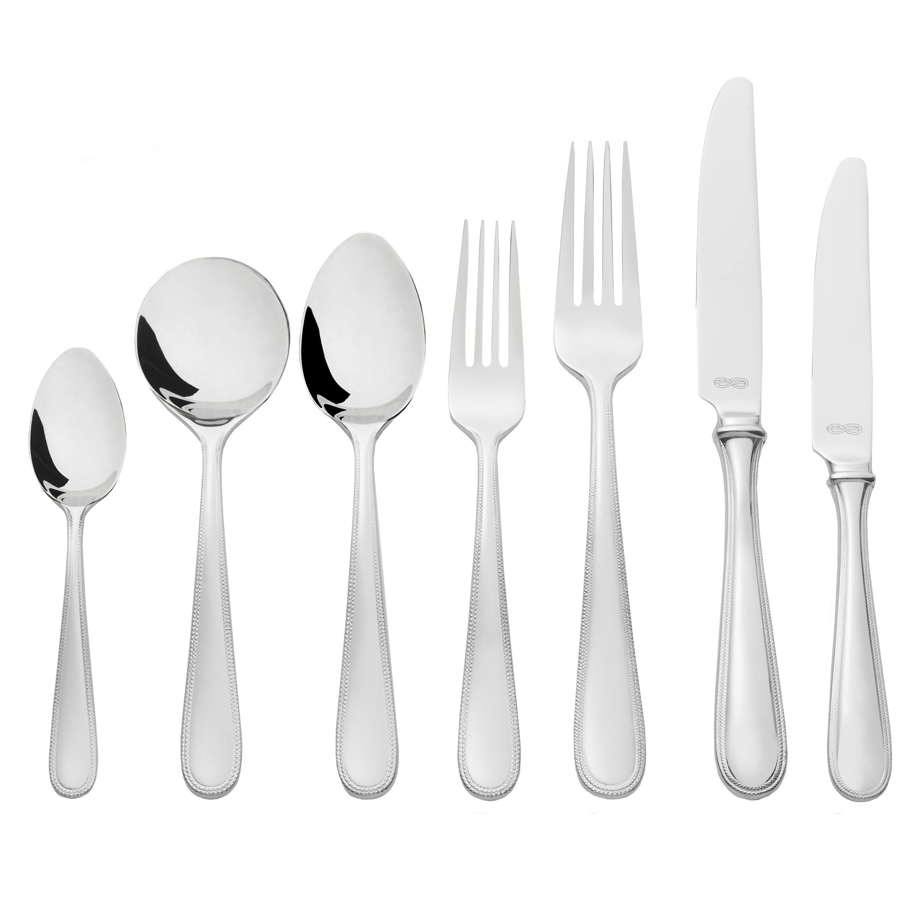 Vera Wang Wedgwood Infinity 56 Piece Cutlery Set