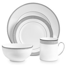 Vera Wang Grosgrain 4 Piece Place Setting