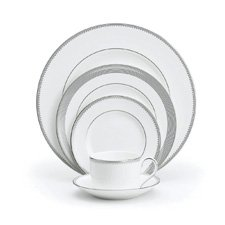 Vera Wang Wedgwood Grosgrain 5 Piece Place Setting