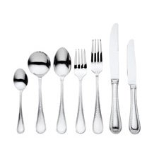 Vera Wang Wedgwood Cutlery Grosgrain 56 Piece Cutlery Set