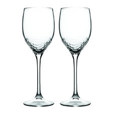 Vera Wang Wedgwood Sequin Crystal Wine Pair