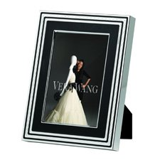 "Vera Wang Wedgwood With Love Noir Silver Giftware Frame 4x6"" (10x15cm)"