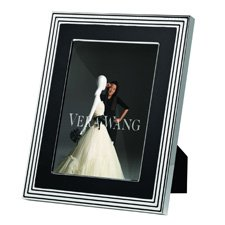 "Vera Wang Wedgwood With Love Noir Silver Giftware Frame 8""x10"" (20x25cm)"