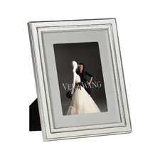 "Vera Wang Wedgwood Chime Silver Giftware Frame 4x6"" (10x15cm)"