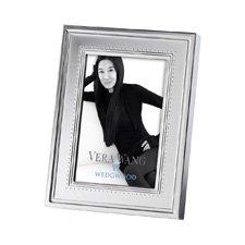 "Vera Wang Wedgwood Grosgrain Silver Giftware Frame 4x6"" (10x15cm)"